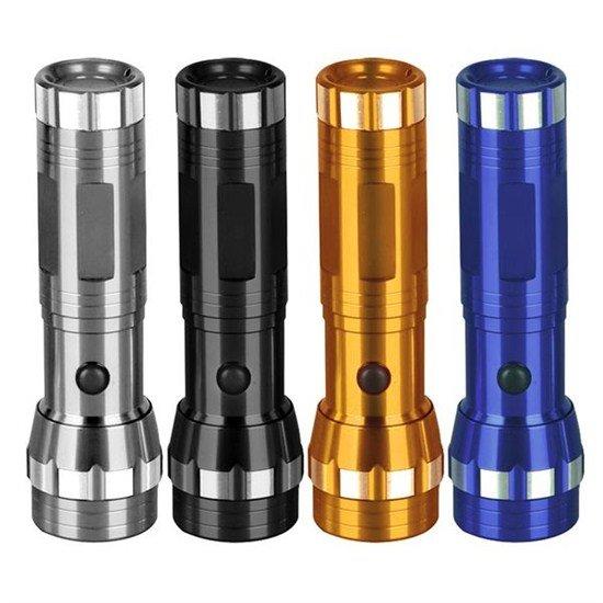 Solight LED svietidlo, kovová, 4 farby, so šnúrkou, 14x LED