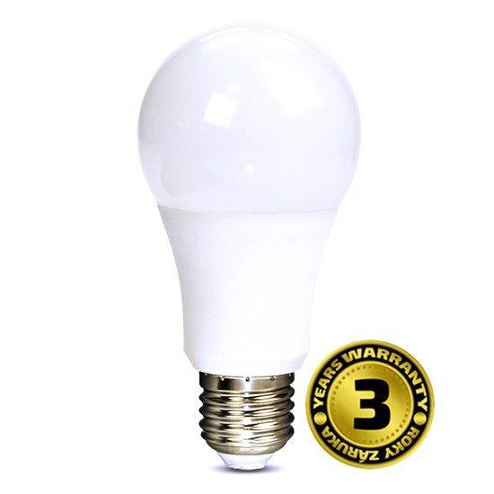 Solight LED žiarovka, klasický tvar, 10W, E27, 3000K, 270°, 810lm