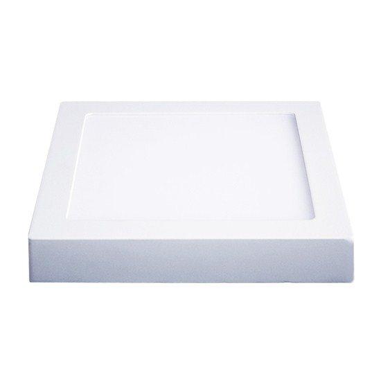 Solight LED panel prisadený, 12W, 900lm, 4000K, štvorcové, biele