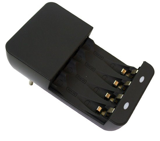Solight nabíjačka, AC 230V, max. 180mA, 2 kanály, AA/AAA