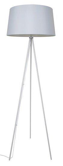 Solight stojaca lampa Milano Tripod, trojnožka, 145 cm, E27, biela