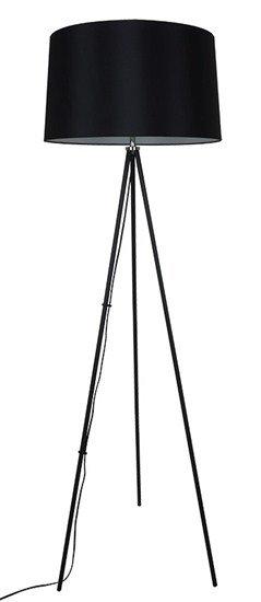 Solight stojaca lampa Milano Tripod, trojnožka, 145 cm, E27, čierna
