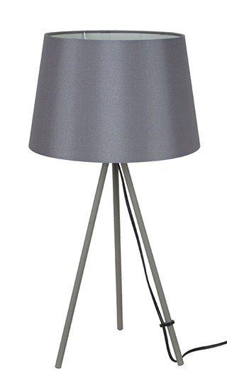 Solight stolná lampa Milano Tripod, trojnožka, 56 cm, E27, šedá