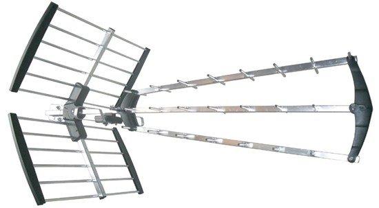 Solight vonkajšia DVB-T anténa, 39dB, UHF, 21. - 60. kanál, LTE/4G filter