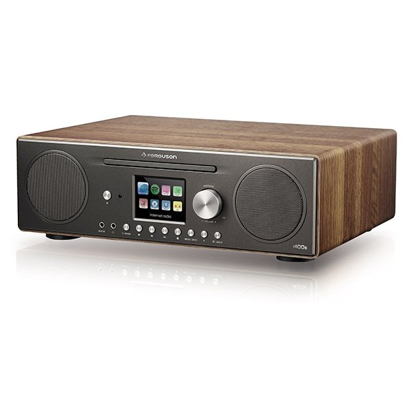 FERGUSON Digital Radio Ferguson i400 Spotify Walnut