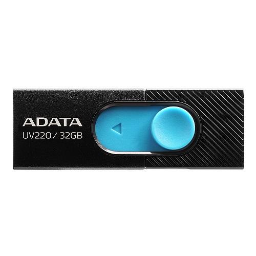 32 GB . USB kľúč . ADATA DashDrive™ Value UV220 USB 2.0, Black/Blue