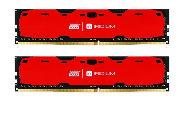 DDR 4 ............... 16 GB . 2400MHz . CL15 SR .......... GOODRAM IRDM Red (2x8GB)