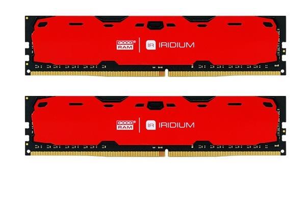 DDR 4 ............... 16 GB . 2400MHz . CL15 SR .......... GOODRAM IRDM Red (2x8GB)