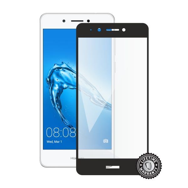 Screenshield HUAWEI Nova Smart DIG-l21 Tempered Glass protection (full COVER black) - Film for display protection