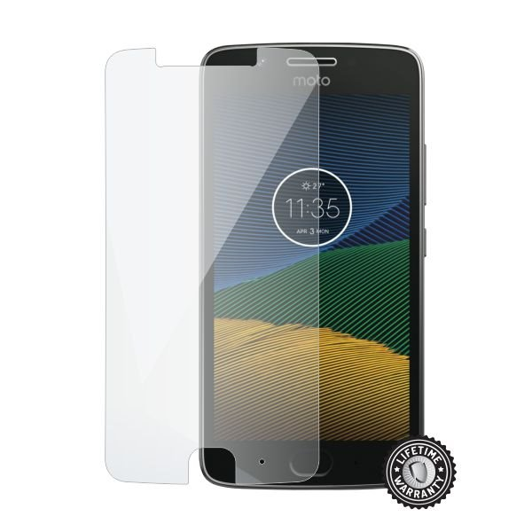 Screenshield MOTOROLA Moto G5 XT1676 Tempered Glass protection - Film for display protection