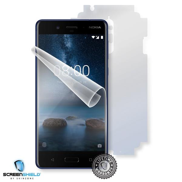 Screenshield NOKIA 8 (2017) - Film for display + body protection