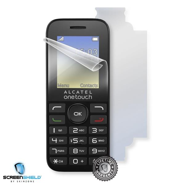 Screenshield ALCATEL One Touch 1016G - Film for display + body protection