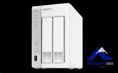 QNAP™ TS-231P 2 Bay NAS, 3.5, Alpine AL-212, 2-core, 1.7GHz, 1GB DDR3 RAM, EU Edition