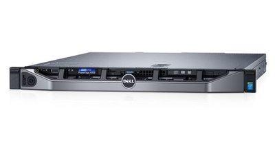 DELL PE R330 E3-1220 v6 2x8GB 4x300GB 10k SAS DVDRW H730 iDRAC8 Ent 2x350W 3Yr PS
