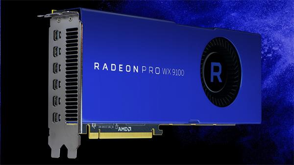 AMD Radeon Pro WX 9100 Workstation Graphics 16GB HBM2 6x mDP