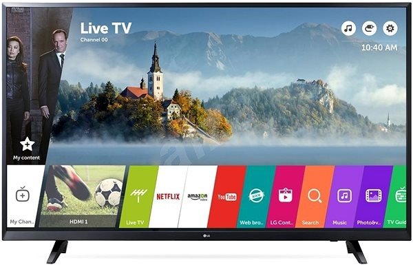 LG 65UJ620V SMART LED TV 65