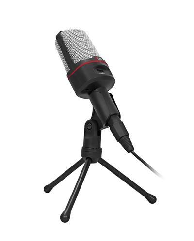C-TECH stolný mikrofón MIC-02, 3,5