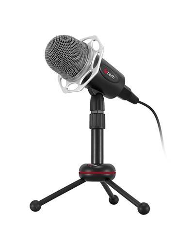 C-TECH stolný mikrofón MIC-03, 3,5