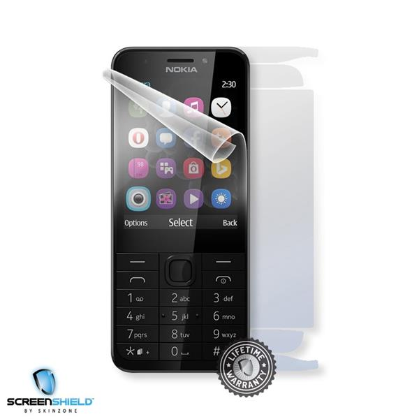 Screenshield NOKIA 230 RM-1172 - Film for display + body protection