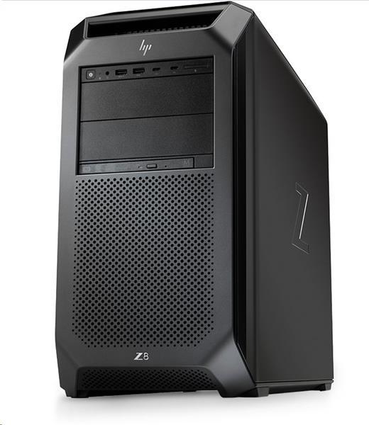 HP Z8 G4, Xeon Silver 4116, noVGA, 32 GB, 256GB SSD, DVDRW, CR, W10Pro, 3Y