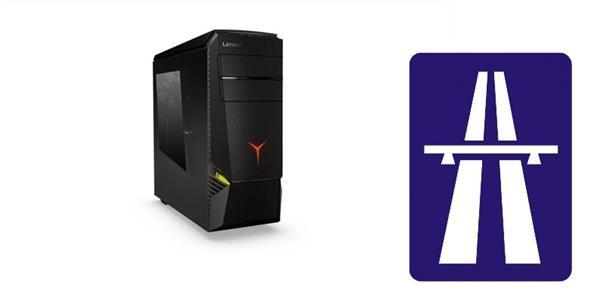Lenovo IC LEGION Y920-34 TWR i5-7600K 4.2GHz NVIDIA GTX1070/8GB 16GB 1TB+256GB SSD DVDRW W10 cierny 3yOS
