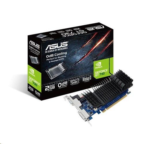 ASUS GT730-SL-2GD5-BRK 2GB/64-bit, GDDR5, DVI, HDMI,D-Sub + LP Bracket