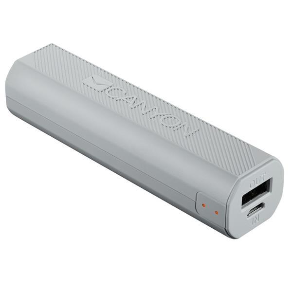 Canyon CNE-CPBF26W Powerbank 2600mAh, výstup USB 5V/max 2,4A, pre smartfóny, biela