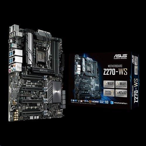 ASUS Z270-WS soc.1151 Z270 DDR4 ATX 4xPCIe RAID 2xGL USB3.0