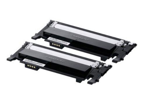 SAMSUNG CLT-P406B 2-pk Black Toner Cr