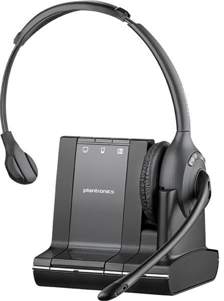 Plantronics SAVI W710/A-M, DECT bezdrôtová náhlavná súprava na jedno ucho so sponou