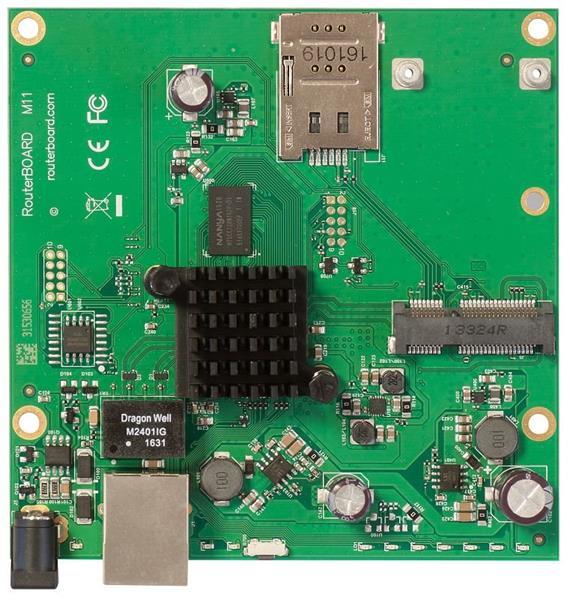 MIKROTIK RouterBOARD M11G + L4 (880MHz, 256MB RAM, 1xGLAN,1x miniPCIe)