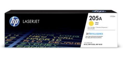 HP Žltá originálna tonerová kazeta HP 205A LaserJet