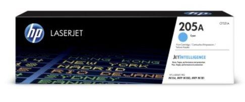 HP Azúrová originálna tonerová kazeta HP 205A LaserJet