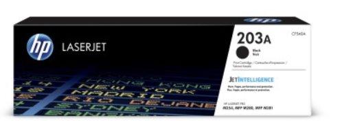 CF540A Čierna originálna tonerová kazeta HP 203A LaserJet