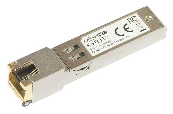 MIKROTIK SFP+ modul RJ45 10/100/1000M/2.5G/5G/10G copper module