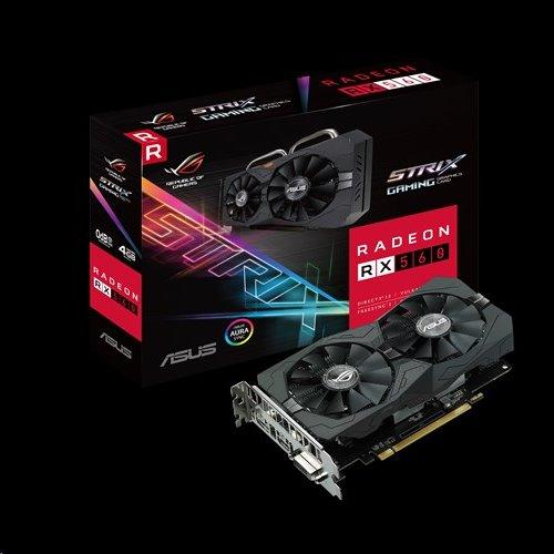 ASUS ROG-STRIX-RX560-4G-EVO-GAMING, 4GB/128-bit GDDR5, DVI, HDMI, DP