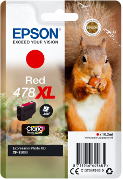 Epson atrament XP-15000 red XL 10.2ml - 830 str.