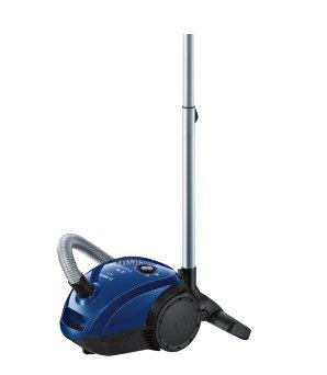 BOSCH_600W, energetická trieda A, trieda účinnosti: koberce D, tvrdé podlahy D, prachové emisie B, HiSpin motor, modrá