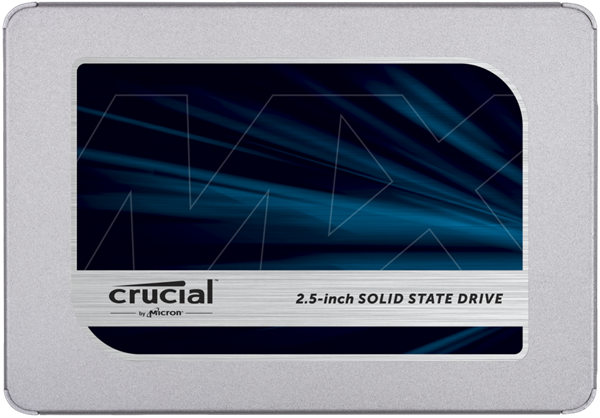 "Crucial MX500 2TB SSD, 2.5"" 7mm SATA 6Gb/s, Read/Write: 560 MBs/510MBs"