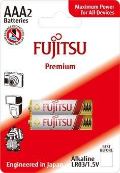 Fujitsu Premium Power alkalická batéria LR03/AAA, blister 2ks