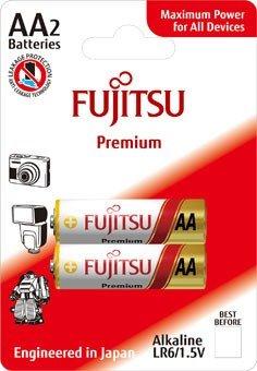 Fujitsu Premium Power alkalická batéria LR06/AA, blister 2ks