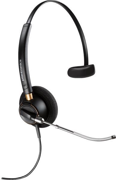 Plantronics ENCOREPRO HW510V náhlavná súprava na jedno ucho so sponou