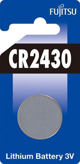 Fujitsu gombíková lítiová batéria 3V, CR2430, blister 1ks