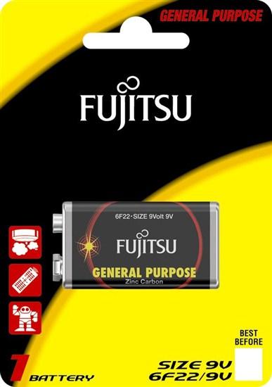 Fujitsu zinková batéria 9V, blister 1ks