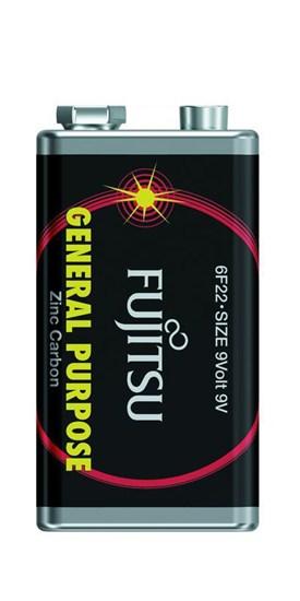 Fujitsu zinková batéria 9V, shrink 1ks