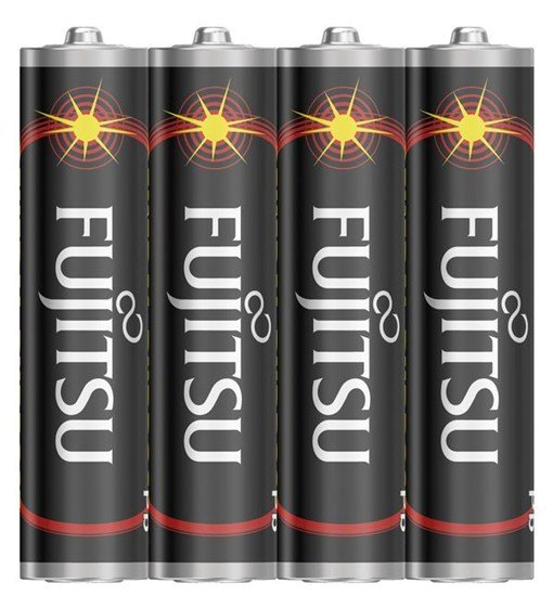 Fujitsu zinková batéria 1.5V, R03/AAA, shrink 4ks