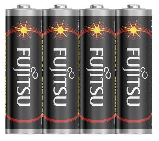 Fujitsu zinková batéria 1.5V, R06/AA, shrink 4ks