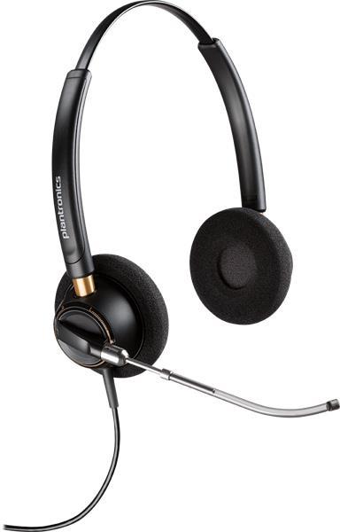 Plantronics ENCOREPRO HW520V náhlavná súpravana obe uši so sponou