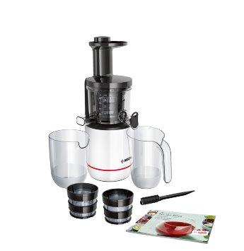 BOSCH_150 W, odolný tritanový šnek, 2 filtre, tichá prevádzka, spätný chod,DripStop, nádoba na šťavu 1 l