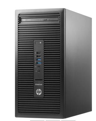 HP EliteDesk 705 G3 MT, Ryzen 7 Pro 1700X, RX480/4GB, 8GB, SSD 256GB, DVDRW, W10Pro, 3-3-3